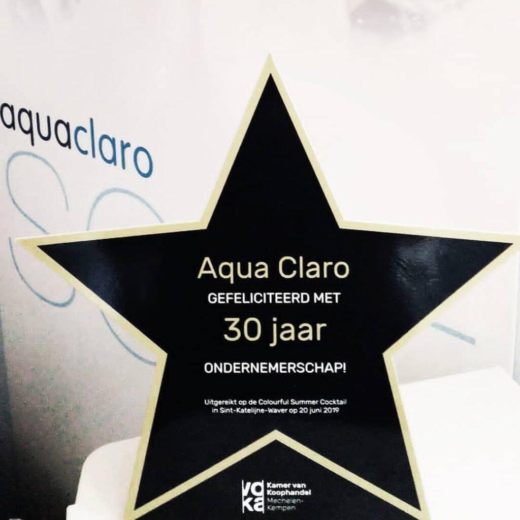 Over ons - Aqua Claro 30 jaar ondernemerschap